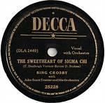 The Sweetheart Of Sigma Chi - Bing Crosby