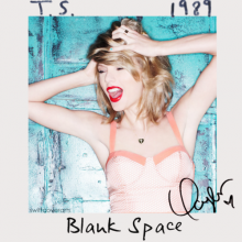 Blank Space -  Taylor Swift
