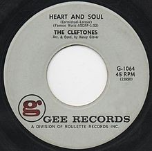 Heart And Soul - The Cleftones