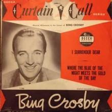 I Surrender, Dear - Bing Crosby