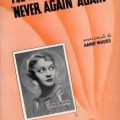 I'll Never Say Never Again - The Dorsey Brothers