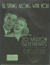 I'll String Along With You - Dick Powell