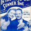 In The Good Old Summertime - George Evans