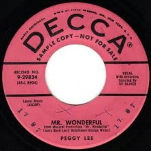 Mr. Wonderful - Peggy Lee