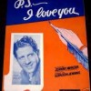 P. S. I Love You - Rudy Vallée