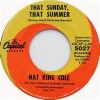 That Sunday ,That Summer - Nat King Cole