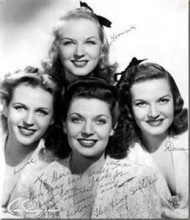 The Four King Sisters