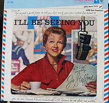 I Left My Heart At The Stage Door Canteen - Jo Stafford