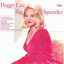 It's A Wonderful World - Peggy Lee