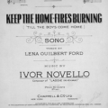 Keep The Home - Fires Burning - John McCormack