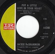 Put A Little Love In Your Heart - Jackie DeShannon
